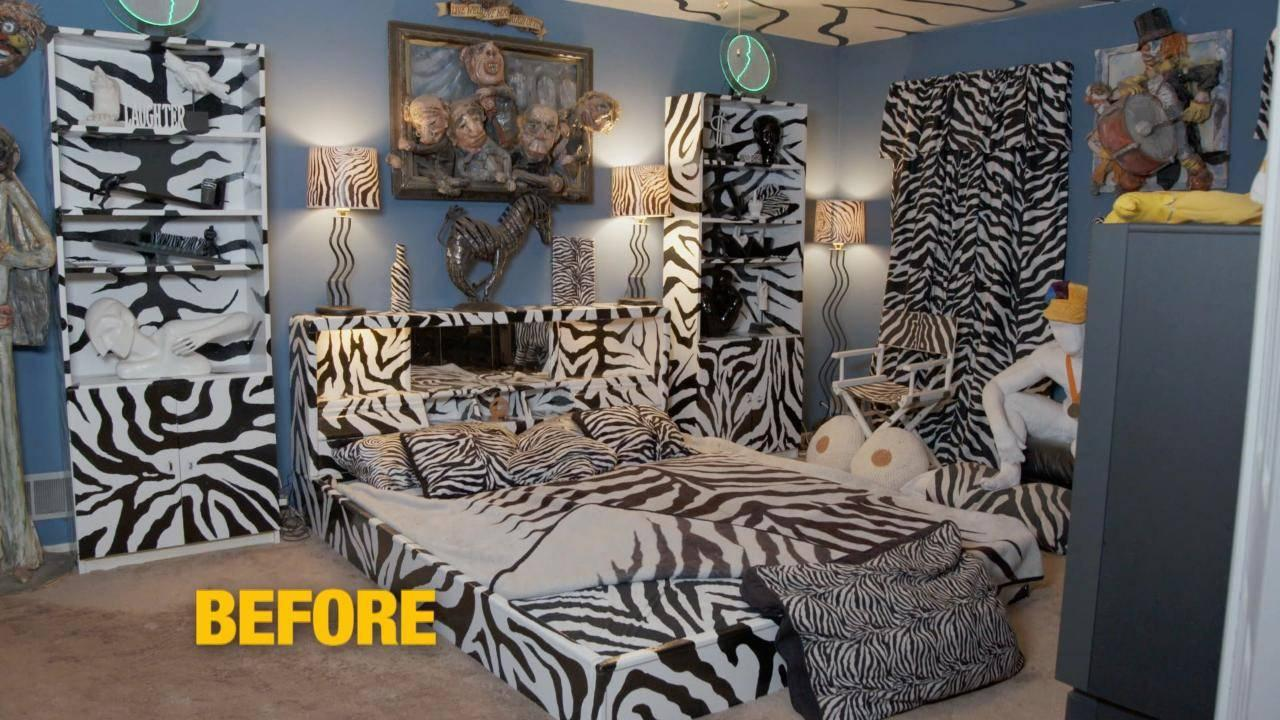 You\'ll Never Believe What This Zebra-Themed Bedroom Looks ...