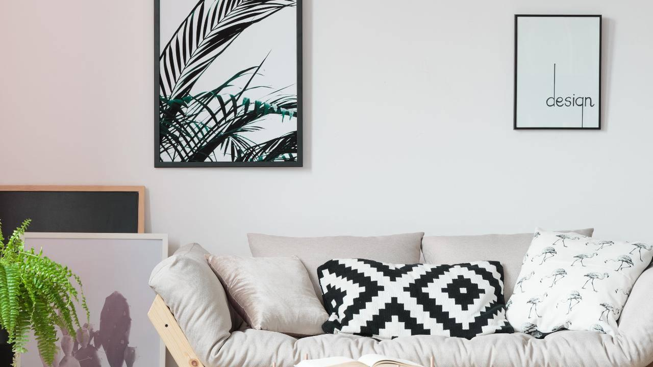 Here S How You Can Hang Big Wall Art Without A Single Nail Or Hammer
