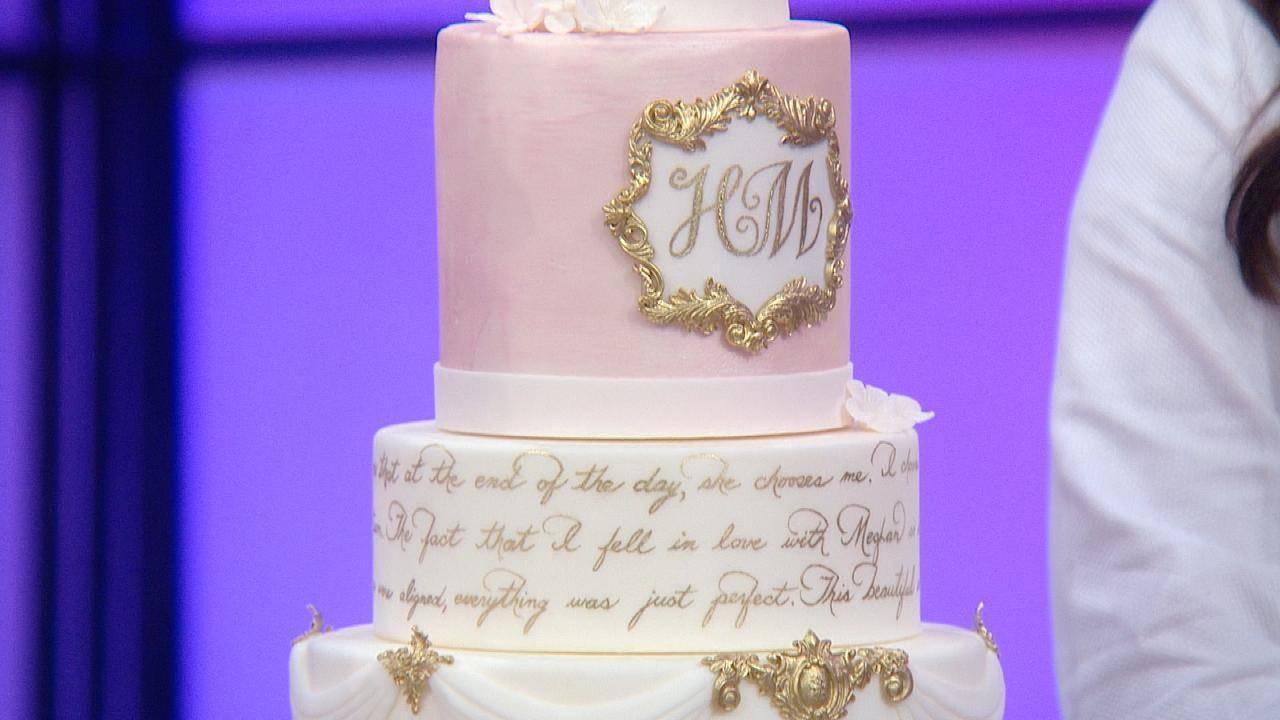 Meghan Markle Wedding Cake.3 Stunning Wedding Cakes Inspired By Prince Harry Meghan