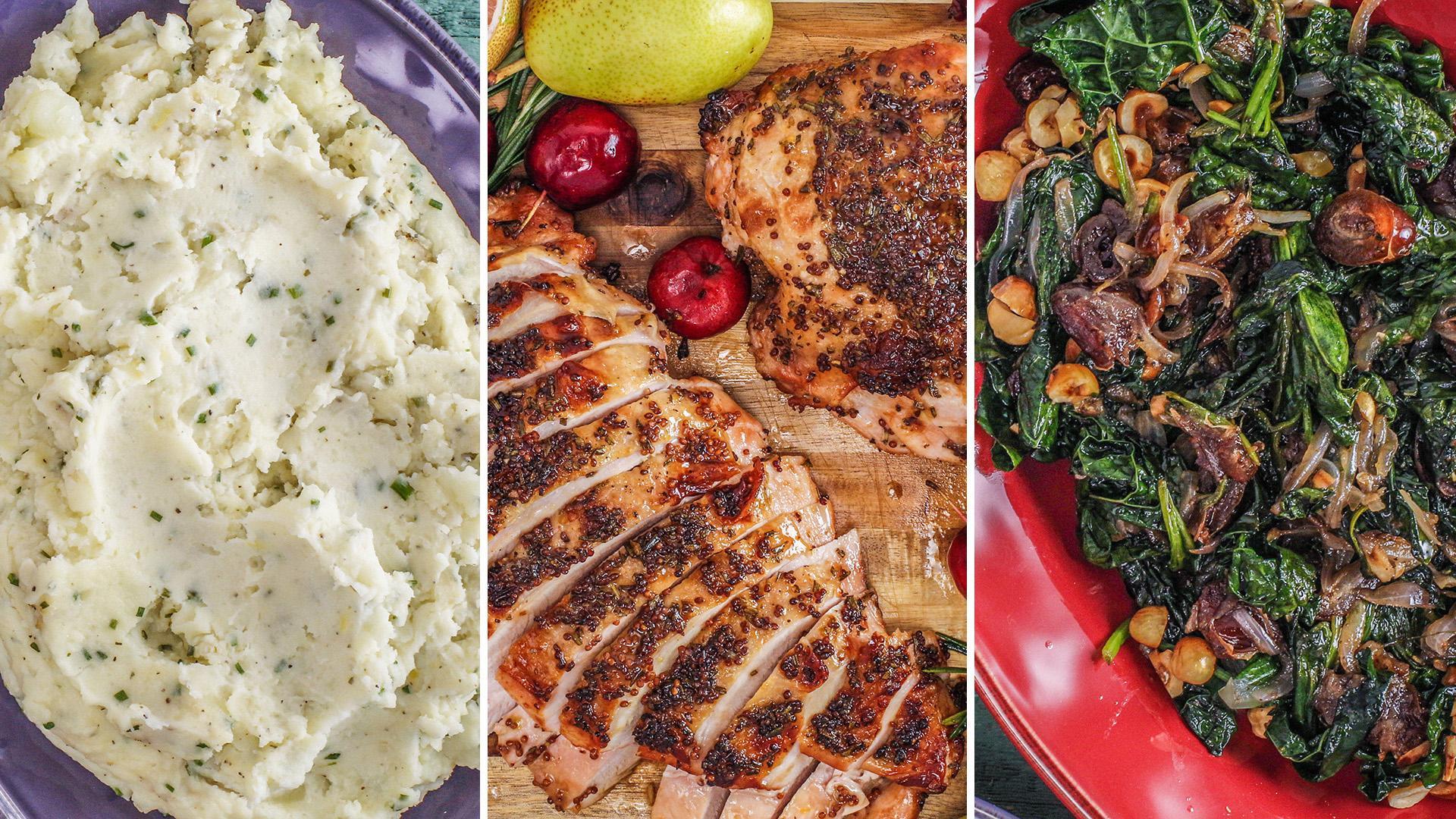 All The Recipes On Rachael S 60 Minute Thanksgiving Menu Rachael