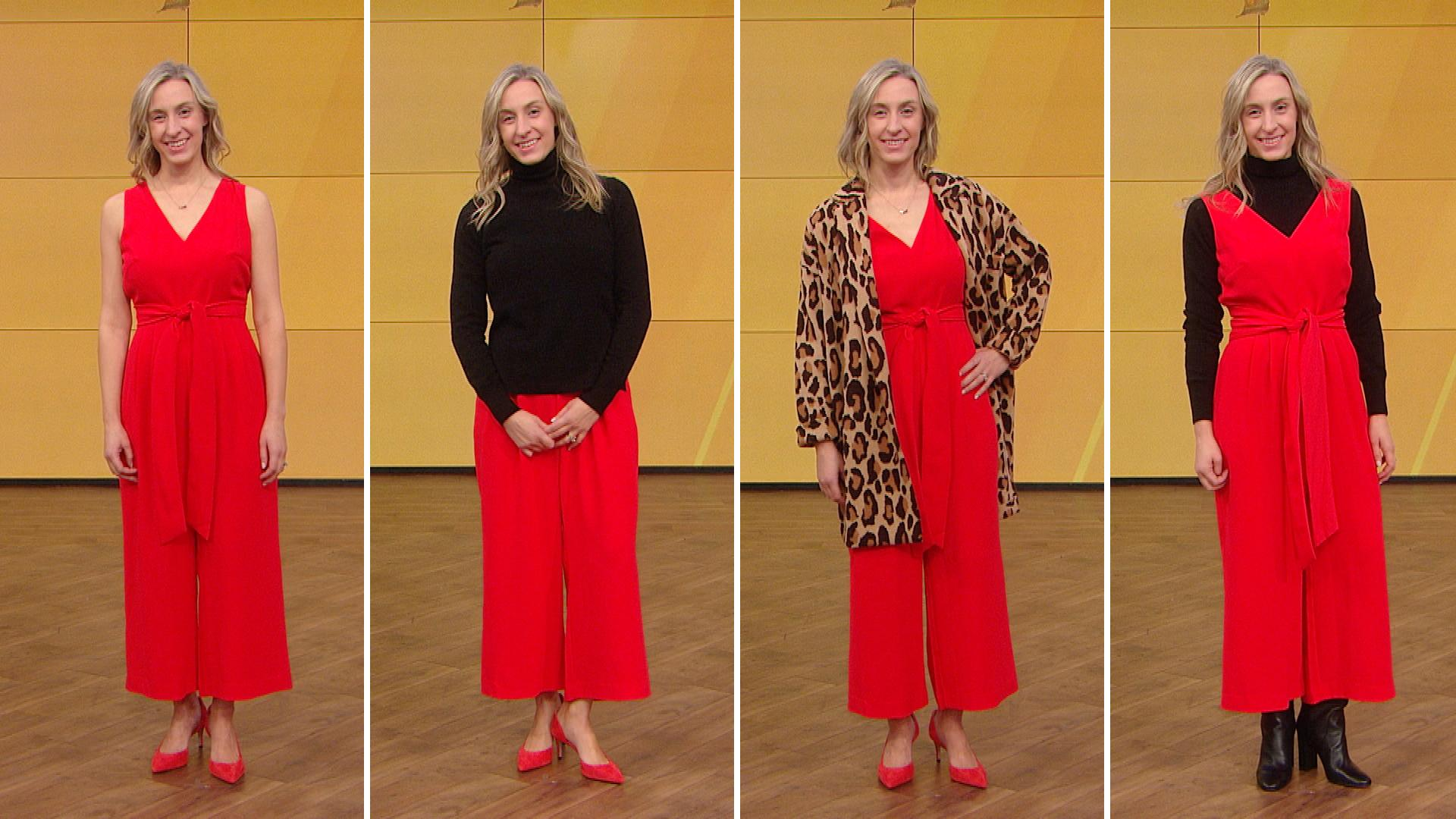 60cb7d4d4986 38 Chic Holiday Party Outfits—Created With Only TEN Key Wardrobe Pieces
