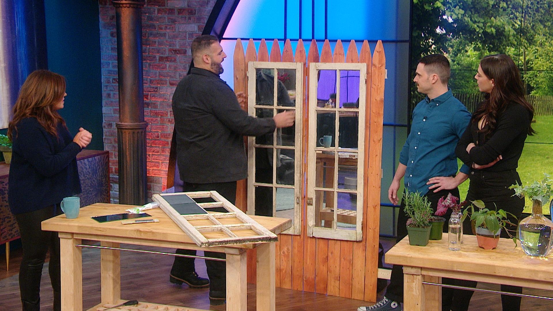 779034ed10 How To Make a DIY Garden Mirror | Rachael Ray Show