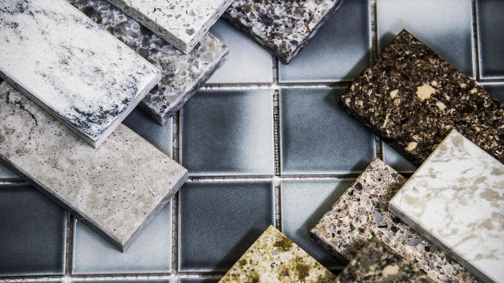 Use Up Leftover Tile With This Mix And Match Flooring Diy