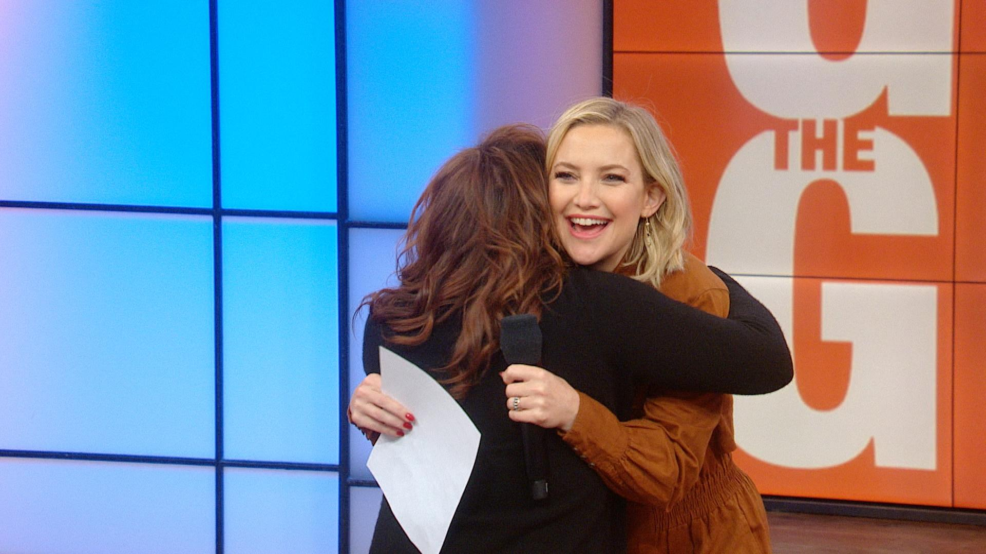 Kate Hudson Surprises Rachael And Talks New Clothing Line | Rachael Ray Show