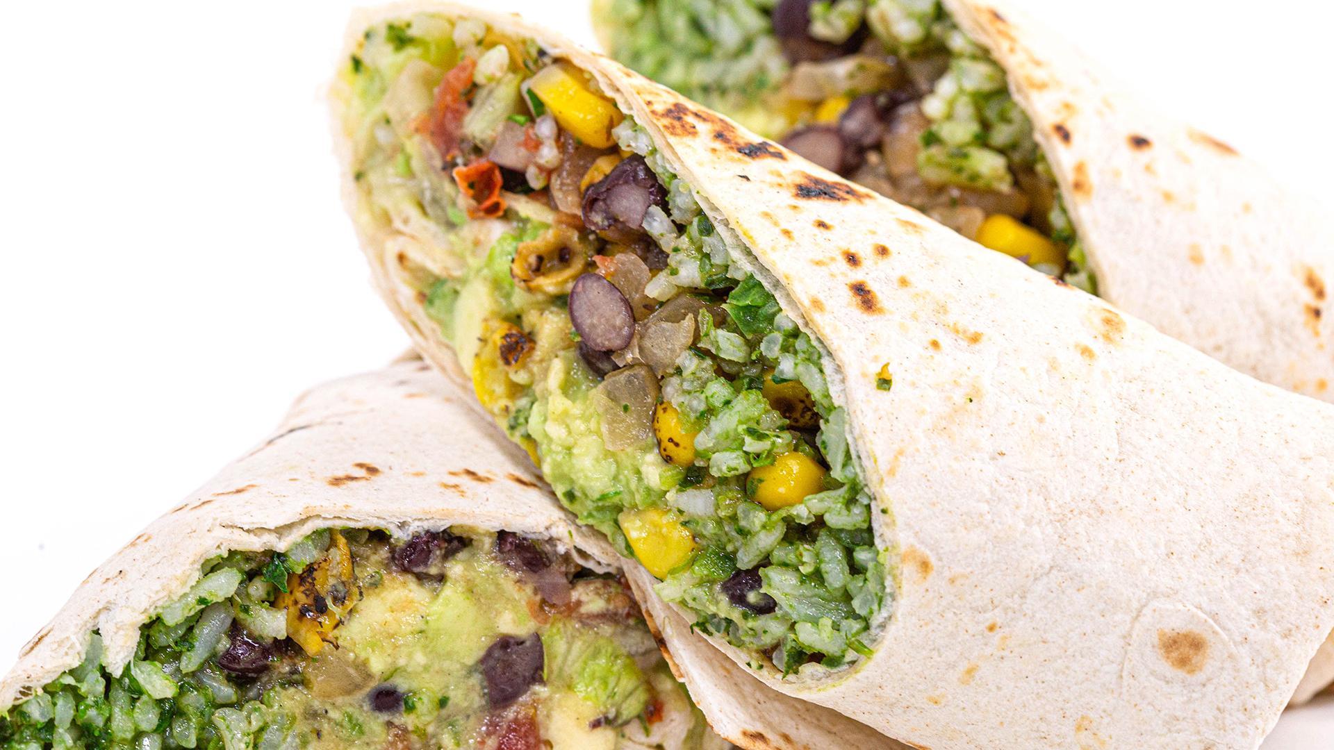 Burritos Vegan.
