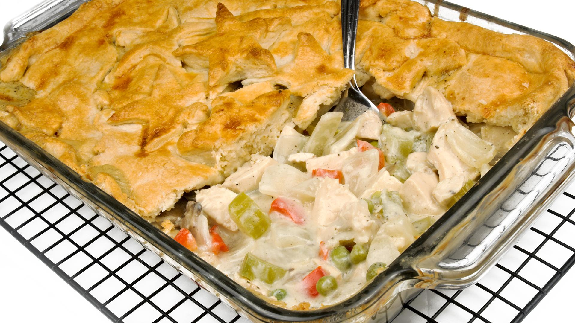 Chicken Pot Pie Casserole Rachael Ray Show