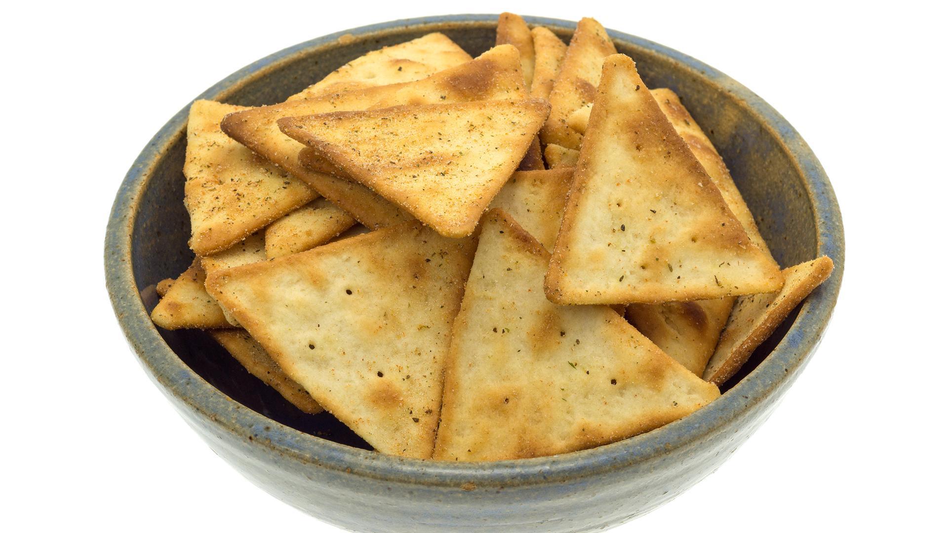 Onion Pita Chips Recipe Rachael Ray Show
